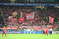 Fans des FC Bayern feiern - 22.12.2018: Eintracht Frankfurt vs. FC Bayern München, Commerzbank Arena, DISCLAIMER: DFL regulations prohibit any use of photographs as image sequences and/or quasi-video.