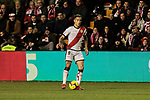 Rayo Vallecano's Oscar Guido Trejo during La Liga match between Rayo Vallecano and CD Leganes at Vallecas Stadium in Madrid, Spain. February 04, 2019. (ALTERPHOTOS/A. Perez Meca)