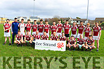 The Cromane seniors who won the Intermediate Mens Cup in the Lidl Comórtas Peile Páidi Ó Sé 2019.