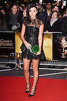 "Lucy Mecklenburgh<br /> at the ""Game of Thrones Hardhome"" gala screening, Empire, Leicester Square London<br /> <br /> <br /> ©Ash Knotek  D3098 12/03/2016"