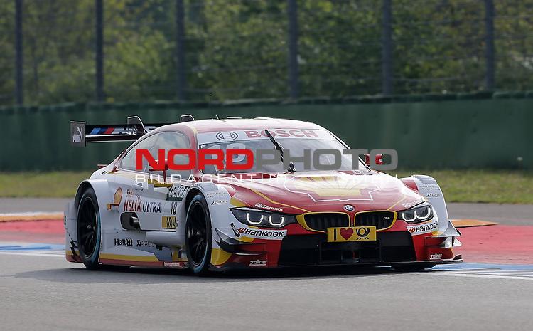 DTM 2015, 01.Lauf Hockenheimring, 01.05. - 03.05.15 <br /> Augusto Farfus (BRA#18) BMW Team RBM BMW M4 DTM <br /> <br /> <br /> <br /> Foto &copy; nordphoto /  Bratic