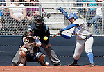 April 7, 2012:   San Jose State Spartans Breanna Lopez at the plate against the Nevada Wolf Pack during their NCAA softball game played at Christina M. Hixson Softball Park on Saturday in Reno, Nevada.
