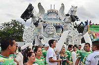 SÃO PAULO, SP, 03 DE FEVEREIRO DE 2013 - CARROS ALEGÓRICOS SAMBÓDROMO - Diversos carros alegóricos ja se encontram no Sambódromo do Anhembi, onde na semana que vem acontece o Carnaval 2013 de São Paulo. . FOTO LEVI BIANCO - BRAZIL PHOTO PRESS