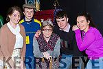 oonagh O'Keeffem Donnacha Daly, Hazel McCarthy, Anthony Bird and Aine Barry at the St Patricks College and Castleisland Presentation Secondary school drama in St Johns Hall on Thursday night