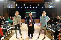 Se&ntilde;orita AweSumo by Fi Saurus, Eco Fashion Exposed Buyers &amp; Media Showcase at Notre Dame Performing Arts Centre, Lower Hutt, New Zealand on Thursday 24 July 2014. <br /> Photo by Masanori Udagawa. <br /> www.photowellington.photoshelter.com.