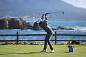 Dustin Johnson (USA) in action at Pebble Beach Golf Links during the third round of the AT&T Pro-Am, Pebble Beach Golf Links, Monterey, USA. 09/02/2019<br /> Picture: Golffile | Phil Inglis<br /> <br /> <br /> All photo usage must carry mandatory copyright credit (© Golffile | Phil Inglis)