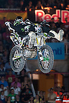 Red Bull X-Fighters 2012. Madrid. Rider In the picture Blake Williams AUS. July 19, 2012. (ALTERPHOTOS/Ricky Blanco)