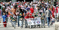 The annual Canton Little League Parade started at the Canton High School and ended at the Kennedy School on Saturday April 27. 2014.(Photo by Gay Wilcox)