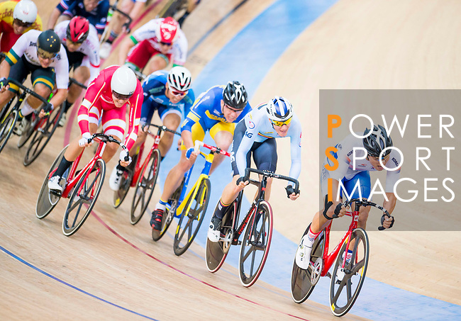 Park Sanghoon of Korea competes on the Men's Omnium Scratch during the 2017 UCI Track Cycling World Championships on 15 April 2017, in Hong Kong Velodrome, Hong Kong, China. Photo by Marcio Rodrigo Machado / Power Sport Images