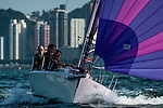 Competitors in action during RHKYC Lipton Trophy 2014 at Victoria Harbour during the on November 15, 2014 in Hong Kong, China. Photo by Xaume Olleros / Power Sport Images