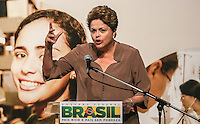 SAO PAULO, SP, 22.08.2013 - FIES - DILMA ROUSSEFF -  A presidente Dilma Rousseff durante cerimônia de celebração de um milhão de contratos do Fundo de Financiamento Estudantil (FIES), no SESC Vila Mariana, na zona sul da capital paulista, na tarde desta quinta-feira (22). (Foto: William Volcov / Brazil Photo Press).