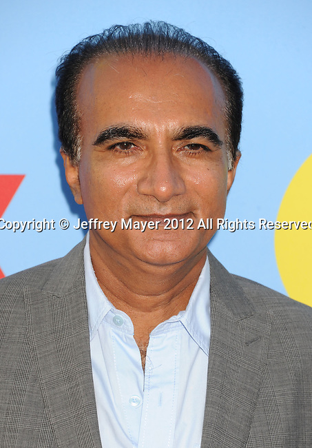 HOLLYWOOD, CA - SEPTEMBER 12: Iqbal Theba arrives at the 'GLEE' Premiere Screening And Reception at Paramount Studios on September 12, 2012 in Hollywood, California.