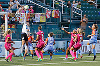 Rochester, NY - Saturday Aug. 27, 2016: Lydia Williams during a regular season National Women's Soccer League (NWSL) match between the Western New York Flash and the Houston Dash at Rochester Rhinos Stadium.