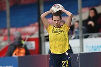 Viktoria Schnaderbeck of Arsenal during Brighton & Hove Albion Women vs Arsenal Women, Barclays FA Women's Super League Football at Broadfield Stadium on 12th January 2020