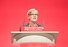 Labour Conference, Brighton, Great Britain <br /> 27th September 2015 <br /> <br /> Kate Green <br /> speech <br /> shadow equalities minister <br /> <br /> <br /> <br /> Photograph by Elliott Franks <br /> Image licensed to Elliott Franks Photography Services