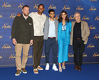 Guy Richie,Will Smith,Mena Massoud,Naomi Scott,Alan Menken at the 'Aladdin' Cast Photocall in the Rosewood Hotel, Holborn, London on May 10th 2019<br /> CAP/ROS<br /> &copy;ROS/Capital Pictures