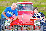 Pictured at the Camp vintage fair on Sunday, from left: Noel Lawlor with his son Aaron Lawlor from Listowel..