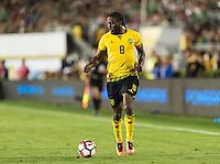 Pasadena, CA - Thursday June 09, 2016: Clayton Donaldson during a Copa America Centenario Group C match between Mexico (MEX) and Jamaica (JAM) at Rose Bowl Stadium.