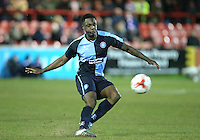 during the Sky Bet League 2 match between Accrington Stanley and Wycombe Wanderers at the Wham Stadium, Accrington, England on 16 March 2016. Photo by Tony (KIPAX) Greenwood / PRiME Media Images.