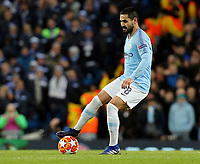 Manchester City's Ilkay Gundogan<br /> <br /> Photographer Rich Linley/CameraSport<br /> <br /> UEFA Champions League Round of 16 Second Leg - Manchester City v FC Schalke 04 - Tuesday 12th March 2019 - The Etihad - Manchester<br />  <br /> World Copyright &copy; 2018 CameraSport. All rights reserved. 43 Linden Ave. Countesthorpe. Leicester. England. LE8 5PG - Tel: +44 (0) 116 277 4147 - admin@camerasport.com - www.camerasport.com