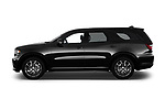 Car Driver side profile view of a 2015 Dodge Durango R/T-RWD 5 Door SUV Side View