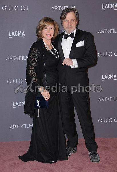 04 November  2017 - Los Angeles, California - Marilou York, Mark Hamill. 2017 LACMA Art+Film Gala held at LACMA in Los Angeles. Photo Credit: Birdie Thompson/AdMedia