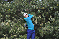 Justin Rose (ENG) on the 4th tee during Round 2 of the Sky Sports British Masters at Walton Heath Golf Club in Tadworth, Surrey, England on Friday 12th Oct 2018.<br /> Picture:  Thos Caffrey | Golffile<br /> <br /> All photo usage must carry mandatory copyright credit (&copy; Golffile | Thos Caffrey)