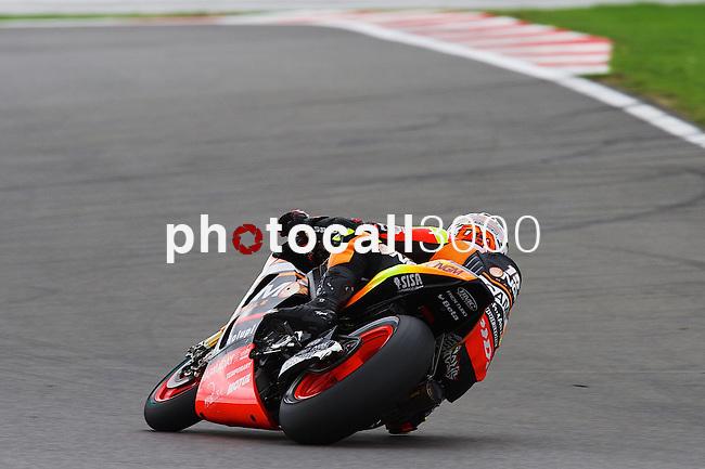 hertz british grand prix during the world championship 2014.<br /> Silverstone, england<br /> August 28, 2014. <br /> FP MotoGP<br /> alex de angelis<br /> PHOTOCALL3000/ RME