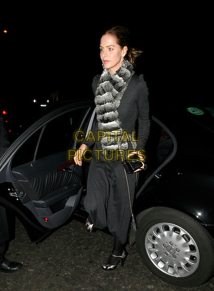 TRINNY WOODALL.Tatler's Little Black Book - launch party at Aviva @ Baglioni Hotel, London, UK..November 9th, 2005.Ref: AH.full length .www.capitalpictures.com.sales@capitalpictures.com.© Capital Pictures.