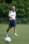 28 May 2012: Assistant coach Dave Sarachan. The Los Angeles Galaxy held a training session on Field 6 at WakeMed Soccer Park in Cary, NC the day before playing in a 2012 Lamar Hunt U.S. Open Cup third round game.