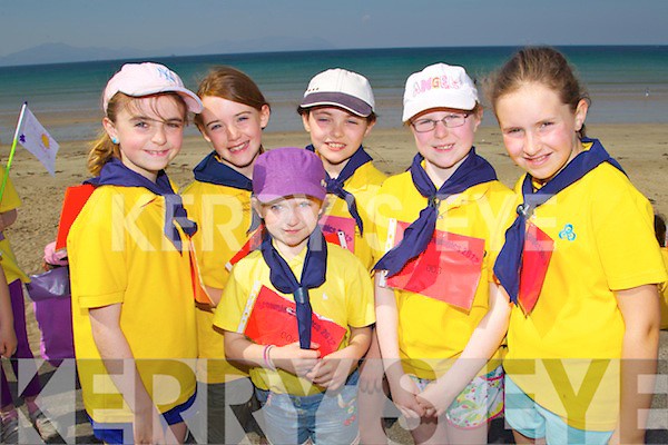 Pictured at the Brownie Olympics event in Ballyheigue on Saturday members of Kielduff Brownies from left: Roisi?n Long, Cora Savage, Clara Callahan, Melissa Sweeney, Lisa Curran and Ellie Sugrue..