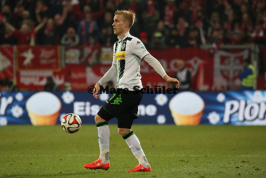 Oscar Wendt (Borussia)  - 1. FSV Mainz 05 vs. Borussia Moenchengladbach, Coface Arena