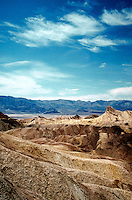 Desert landscape of Death Valley National Monument. Death Valley, California.