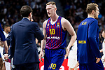 Rolands Smits of FC Barcelona Lassa during Turkish Airlines Euroleague match between Real Madrid and FC Barcelona Lassa at Wizink Center in Madrid, Spain. December 13, 2018. (ALTERPHOTOS/Borja B.Hojas)