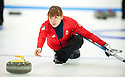 The womens Team GB Winter Olympic Curling Team 2014 :  Claire Hamilton.