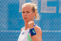 Amstelveen, Netherlands, 1 August 2020, NTC, National Tennis Center, National Tennis Championships,  Womans Final : Richel Hogenkamp (NED) jubilates.<br /> Photo: Henk Koster/tennisimages.com
