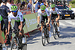 Team Dimension Data recon Stage 1 of La Vuelta 2019, a team time trial running 13.4km from Salinas de Torrevieja to Torrevieja, Spain. 24th August 2019.<br /> Picture: Eoin Clarke | Cyclefile<br /> <br /> All photos usage must carry mandatory copyright credit (© Cyclefile | Eoin Clarke)