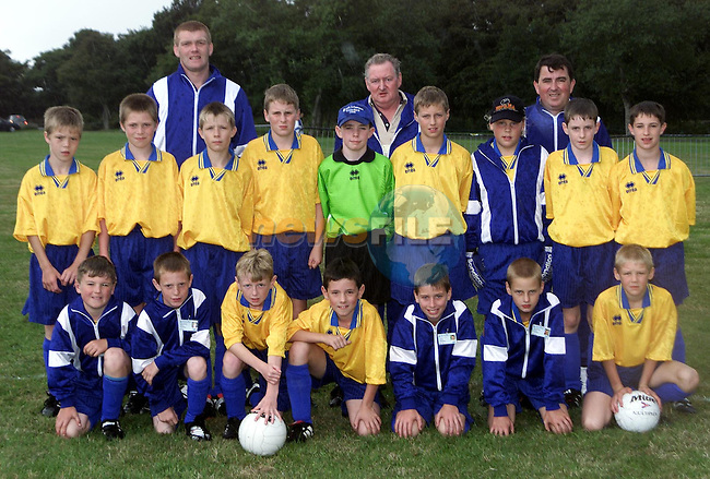 Waterford. Back row L/R, Mike Goiry, Pat Powerand Brendan O'Connor. Middle Row L/R, Graham Goiry, Craig Goiry, Daniel Connelly, Declan Coffey, Leonard English, Paul Horkan, Zane Mulcahy, Richard Fintan and Shane Gleeson. Front row l/R, James McGrane, Brian Whelan, Adam Lonergan, Paul O'Connor, Alan McGrane and Jamie Meehan..Picture: Paul Mohan/Newsfile