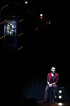"""Enzo Weyne (The Unforgettable) during a press preview of """"The Illusionists - Magic of the Holidays"""" at the Neil Simon Theatre on December 3, 2019 in New York City."""