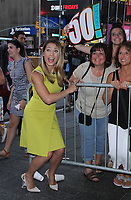 NEW YORK, NY - August 06 : Ginger Zee on the set of Good Morning America in New York City on August 6, 2018. <br /> CAP/MPI/RW<br /> &copy;RW/MPI/Capital Pictures