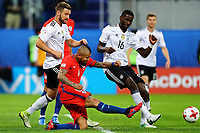 Chile vs Germany S√O PETERSBURGO, MO - 02.07.2017: CHILE VS GERMANY - Arturo Vidal of Chile contests with Shkodran Mustafi and Antonio Ruediger of Germany during a match between Chile and Germany valid for the Final of the Confederations Cup 2017, this Sunday (02), held at the Krestovsky Stadium (Zenit Arena) in St. Petersburg, Russia . (Photo: Heuler Andrey/DiaEsportivo/Fotoarena) x1348993x PUBLICATIONxNOTxINxBRAxCHN HeulerxAndrey<br /> <br /> Chile vs Germany SO  Mo 02 07 2017 Chile vs Germany Arturo Vidal of Chile Contests with Shkodran Mustafi and Antonio Ruediger of Germany during A Match between Chile and Germany Valid for The Final of The Confederations Cup 2017 This Sunday 02 Hero AT The Krestovsky Stage Zenit Arena in St Petersburg Russia Photo  Andrey DiaEsportivo Fotoarena  PUBLICATIONxNOTxINxBRAxCHN  <br /> Foto Imago/Insidefoto