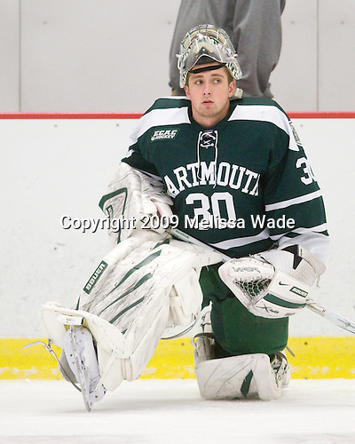 James Mello (Dartmouth - 30) - The Dartmouth College Big Green defeated the Harvard University Crimson 6-2 on Sunday, November 29, 2009, at Bright Hockey Center in Cambridge, Massachusetts.
