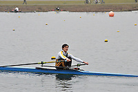 91 WindsorBoysSch J16A.1x..Marlow Regatta Committee Thames Valley Trial Head. 1900m at Dorney Lake/Eton College Rowing Centre, Dorney, Buckinghamshire. Sunday 29 January 2012. Run over three divisions.