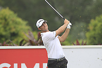 Luke Guthrie (USA) on the 4th tee during Round 3 of the CIMB Classic in the Kuala Lumpur Golf & Country Club on Saturday 1st November 2014.<br /> Picture:  Thos Caffrey / www.golffile.ie
