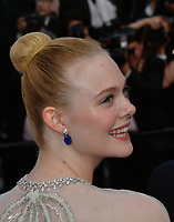CANNES, FRANCE. May 25, 2019: Elle Fanning at the Closing Gala premiere of the 72nd Festival de Cannes.<br /> Picture: Paul Smith / Featureflash