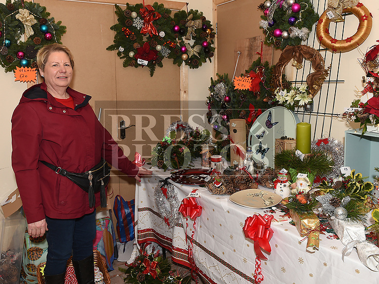 Rose Reilly at the Christmas fair in the Market house Duneer. Photo:Colin Bell/pressphotos.ie