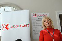 Labour Party Annual Conference<br /> Brighton<br /> 27-30 September<br /> Fringe meeting 'Backing the working class and beyond: How can we get a parliament that looks like us?' organised by Labour List and UNITE trade union.<br /> Jennie Formby, political director, UNITE.