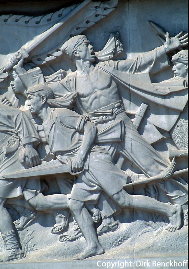 China, Peking, Tian An Men-Platz, Denkmal der Volkshelden