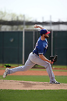 Sam Stafford - Texas Rangers 2016 spring training (Bill Mitchell)