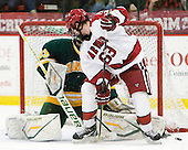 Colin Blackwell (Harvard - 63) - The Harvard University Crimson defeated the visiting Clarkson University Golden Knights 3-2 on Harvard's senior night on Saturday, February 25, 2012, at Bright Hockey Center in Cambridge, Massachusetts.